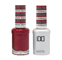 DND Duo Gel Matching Color - 689 Red Ribbon