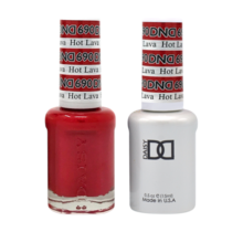 DND Duo Gel Matching Color - 690 Hot Lava