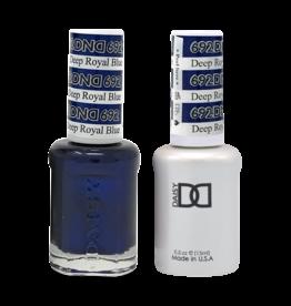 DND 692 Deep Royal Blue - DND Duo Gel + Lacquer
