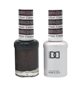 DND 696 Caramelized Plum - DND Duo Gel + Lacquer