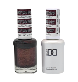 DND 697 Sizzlin' Cinnamon - DND Duo Gel + Lacquer