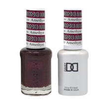 DND Duo Gel Matching Color - 698 Amethyst Sparkles