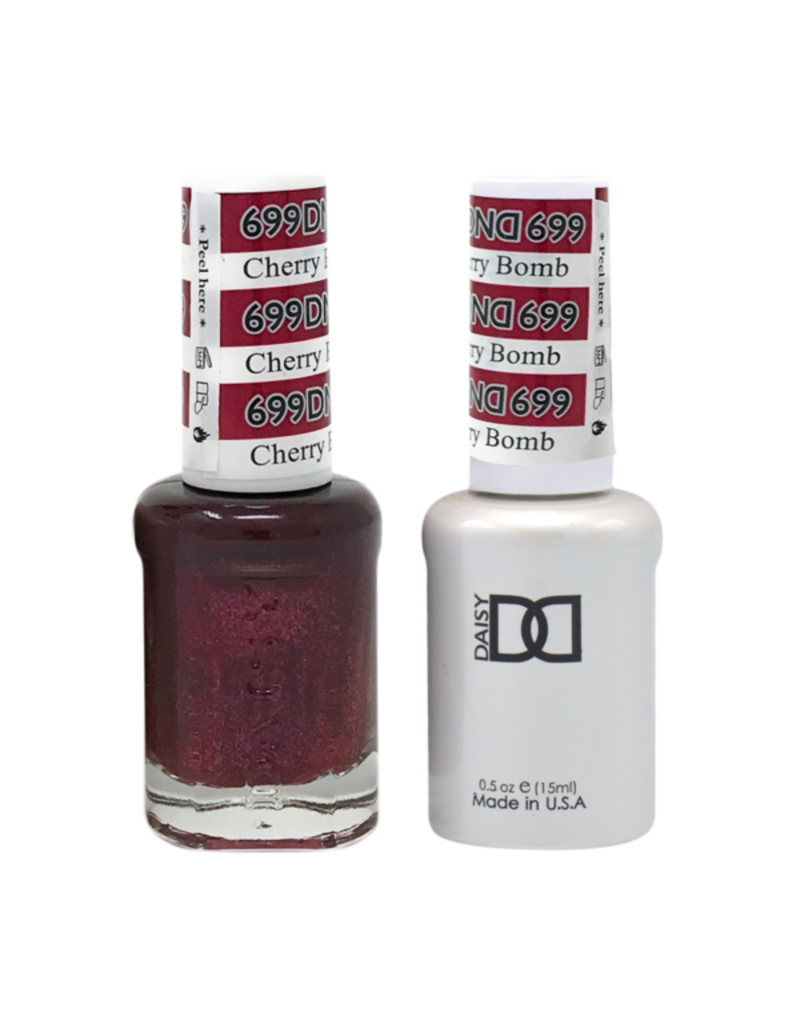 DND 699 Cherry Bomb - DND Duo Gel + Lacquer