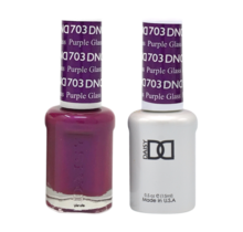 DND Duo Gel Matching Color - 703 Purple Glass