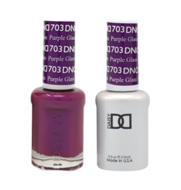 DND 703 Purple Glass - DND Duo Gel + Lacquer