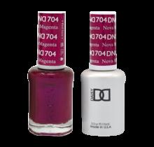 DND Duo Gel Matching Color - 704 Nova Magenta