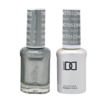 DND Duo Gel Matching Color - 705 Silver Dreamer