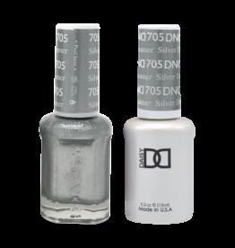 DND 705 Silver Dreamer - DND Duo Gel + Lacquer