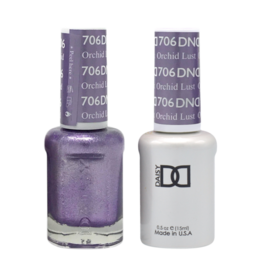 DND 706 Orchid Lust - DND Duo Gel + Lacquer