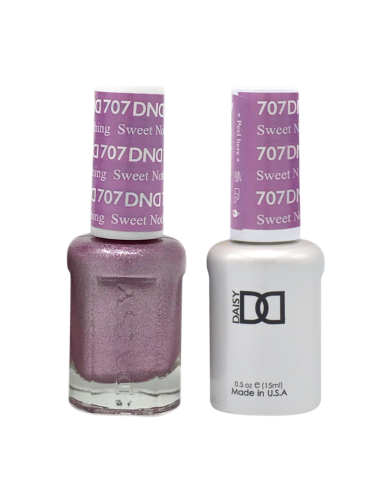 DND 707 Sweet Nothing - DND Duo Gel + Lacquer