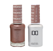 DND Duo Gel Matching Color - 709 Georgia Peach
