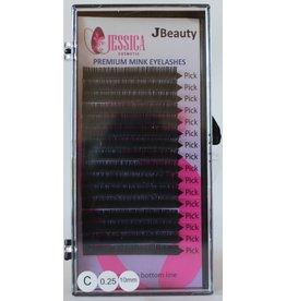 JBEAUTY Individual Eyelashes 0.25