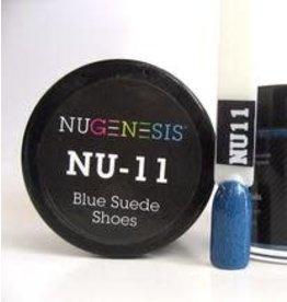 NuGenesis NUGENESIS Blue Suede Shoes - Nail Dipping Color Powder 43g NU 11