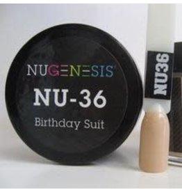 NuGenesis NUGENESIS Birthday Suit - Nail Dipping Color Powder 43g NU 36