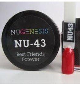 NuGenesis NUGENESIS Best Friends Forever - Nail Dipping Color Powder 43g NU 43