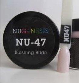 NuGenesis NUGENESIS Blushing Bride - Nail Dipping Color Powder 43g NU 47