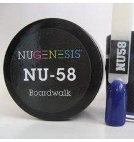 NuGenesis NUGENESIS Boardwalk - Nail Dipping Color Powder 43g NU 58