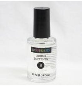 NuGenesis NUGENESIS Step B Brush Softener - Nail Dipping Color Powder 0.5 fl oz
