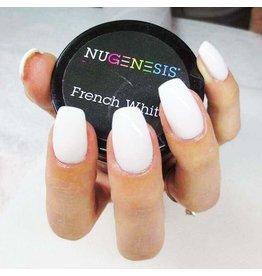 NuGenesis NUGENESIS French White - Nail Dipping Color Powder 43g