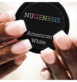 NuGenesis NUGENESIS American White - Nail Dipping Color Powder 43g