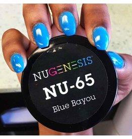 NuGenesis NUGENESIS Blue Bayou - Nail Dipping Color Powder 43g NU 65