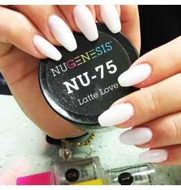 NuGenesis NUGENESIS Latte Love - Nail Dipping Color Powder 43g NU 75