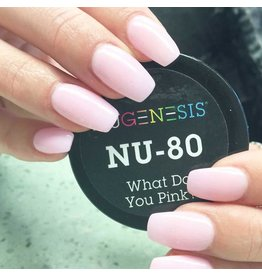 NuGenesis NUGENESIS What Do You Pink? - Nail Dipping Color Powder 43g NU 80