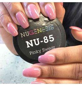 NuGenesis NUGENESIS Pinky Swear - Nail Dipping Color Powder 43g NU 85