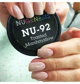 NuGenesis NUGENESIS Toasted Marshmallow - Nail Dipping Color Powder 43g NU 92