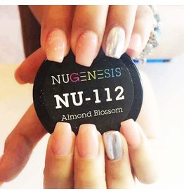 NuGenesis NUGENESIS Almond Blossom - Nail Dipping Color Powder 43g NU 112