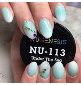 NuGenesis NUGENESIS Under The Sea - Nail Dipping Color Powder 43g NU 113