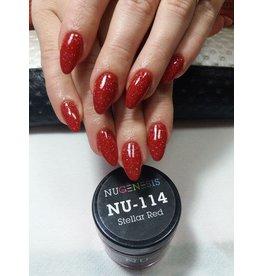 NuGenesis NUGENESIS Stellar Red - Nail Dipping Color Powder 43g NU 114