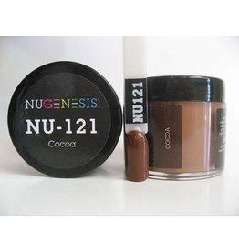 NuGenesis NUGENESIS - Nail Dipping Color Powder 43g NU 121 Cocoa