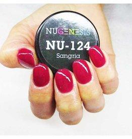 NuGenesis NUGENESIS Sangria - Nail Dipping Color Powder 43g NU 124