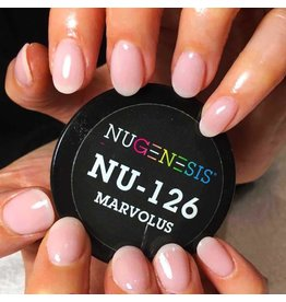 NuGenesis NUGENESIS Marvalous - Nail Dipping Color Powder 43g NU 126