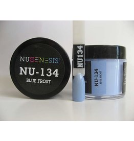NuGenesis NUGENESIS Blue Frost - Nail Dipping Color Powder 43g NU 134
