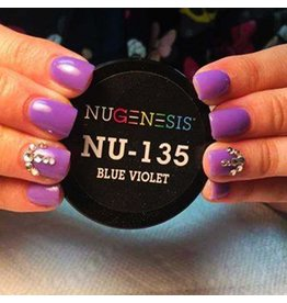 NuGenesis NUGENESIS Blue Violet - Nail Dipping Color Powder 43g NU 135