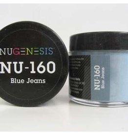 NuGenesis NUGENESIS Blue Jeans - Nail Dipping Color Powder 43g NU 160