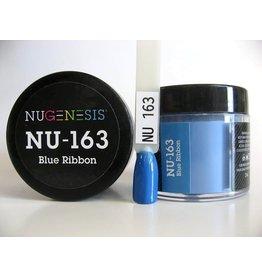 NuGenesis NUGENESIS Blue Ribbon - Nail Dipping Color Powder 43g NU 163