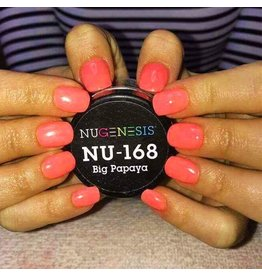 NuGenesis NUGENESIS Big Papaya - Nail Dipping Color Powder 43g NU 168