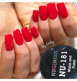 NuGenesis NUGENESIS Warm And Fuzzy - Nail Dipping Color Powder 43g NU 181