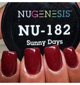 NuGenesis NUGENESIS Sunny Days - Nail Dipping Color Powder 43g NU 182