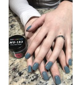 NuGenesis NUGENESIS - Nail Dipping Color Powder 43g NU 183 You Got This!