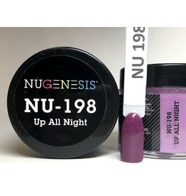 NuGenesis NUGENESIS Up All Night - Nail Dipping Color Powder 43g NU 198