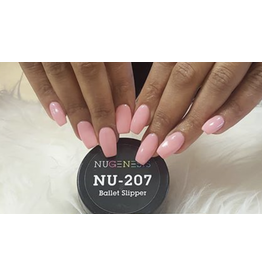 NuGenesis NUGENESIS Ballet Slipper - Nail Dipping Color Powder 43g NU 207