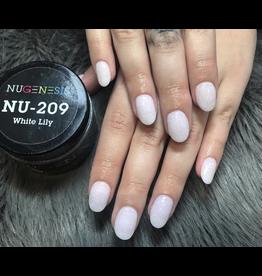 NuGenesis NUGENESIS - Nail Dipping Color Powder 43g NU 209 White Lily