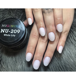 NuGenesis NUGENESIS White Lily - Nail Dipping Color Powder 43g NU 209