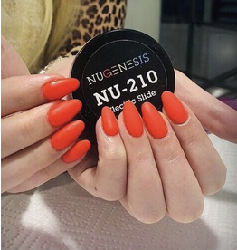 NuGenesis NUGENESIS Electric Slide (Neon) - Nail Dipping Color Powder 43g NU 210
