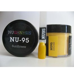 NuGenesis NUGENESIS Sunflower - Nail Dipping Color Powder 43g NU 95