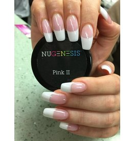 NuGenesis NUGENESIS Pink II - Nail Dipping Color Powder 43g